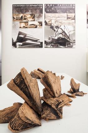 Models of Luigi Rosselli Architects' Six Degrees of Separation residence.