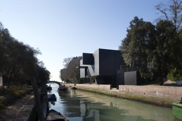 Australian Pavilion Venice by Denton Corker Marshall.