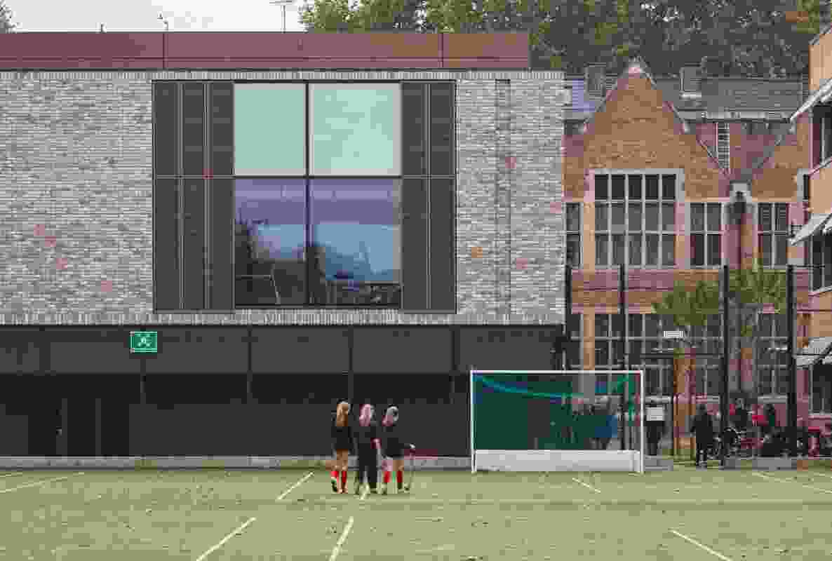 Godolphin and Latymer School Sports Centre by Walters and Cohen.