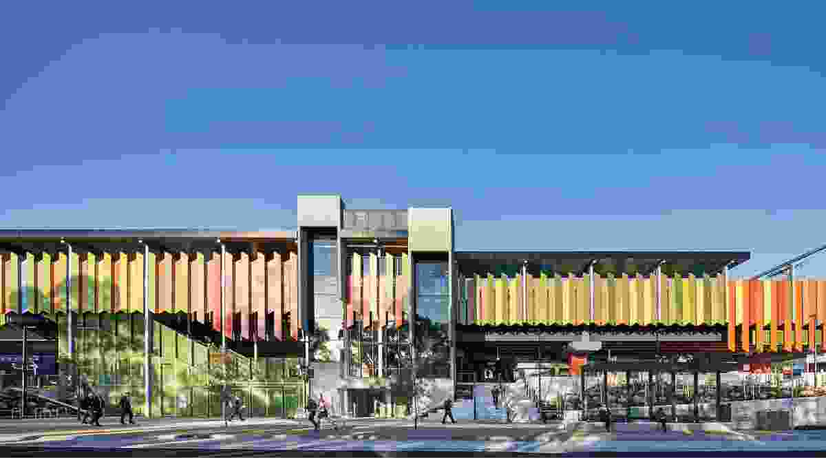 MGS Architects in partnership with Jacobs designed the new Rosanna Station and urban precinct as part of Victoria's Level Crossing Removal Program.