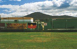 The Aboriginal Tent Embassy. Photographs Christopher Vernon.