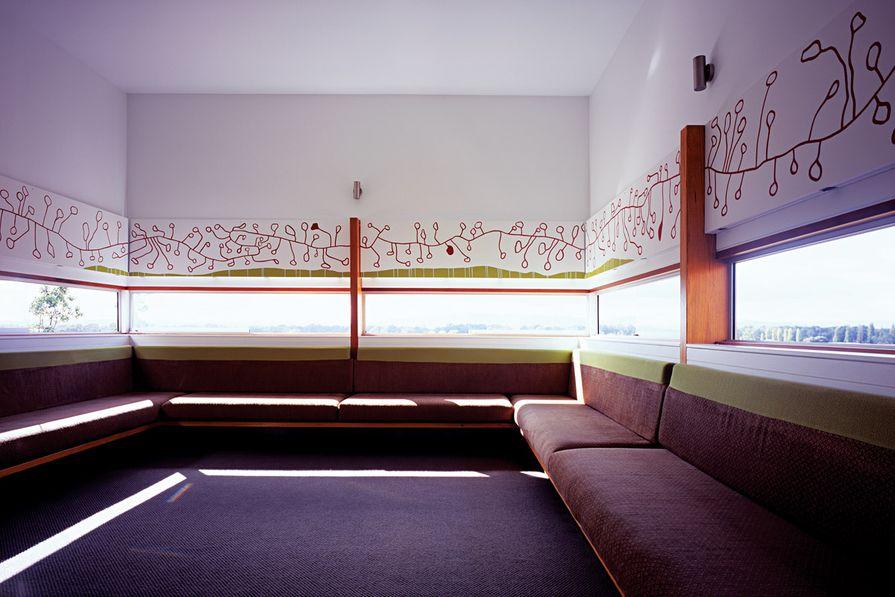 Aneeta windows in the Albury Residence.