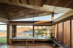 John Wardle Architects' Tasmanian cabin named House Interior of the Year at 2018 Dezeen Awards