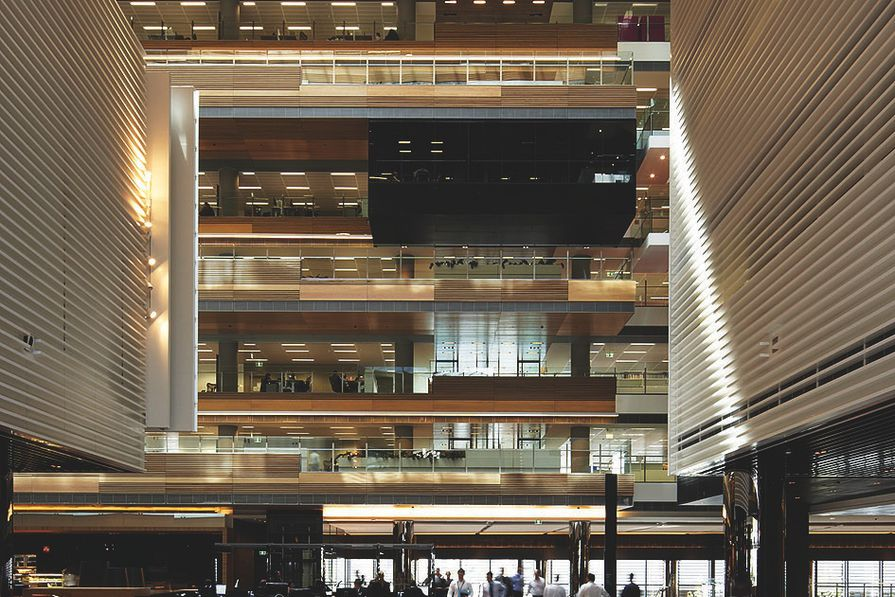 ANZ Centre by Hassell, 2010.