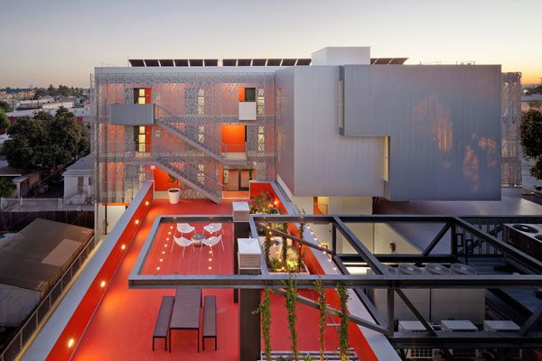 28th Street Apartments, Los Angeles, United States, by Koning Eizenberg Architecture, Inc.
