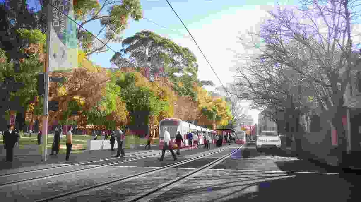 Sydney Light Rail: Urban Renewal Strategy and Reference Design by Hassell.