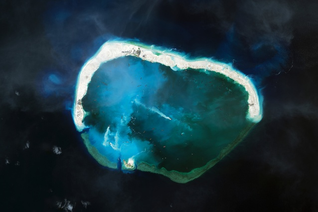 Mischief Reef falls within the exclusive economic zone of the Philippines, lying 129 nautical miles from the island province of Palawan.