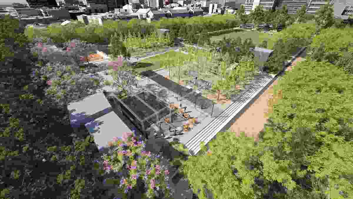 University Square Master Plan by City of Melbourne, City Design Studio.