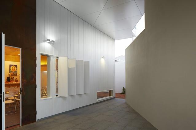 Dharmapala Kadamapa Meditation Centre by Bernard Seeber.