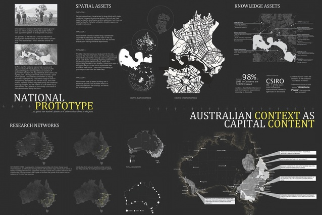 Student Prize: Proto: Capital by Kate Dickinson and Annabel Koeck (Sydney).