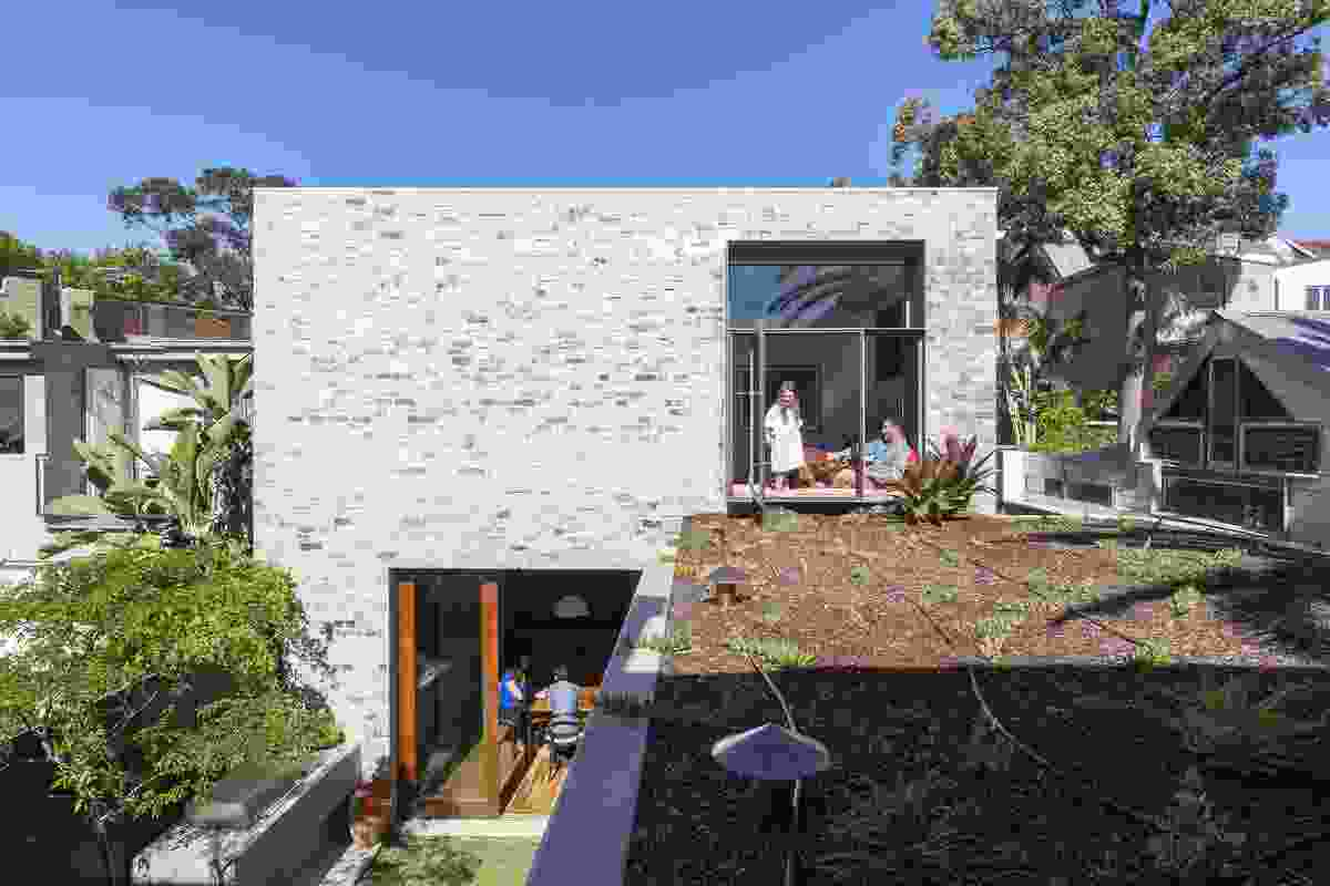 Courtyard House by Aileen Sage Architects.