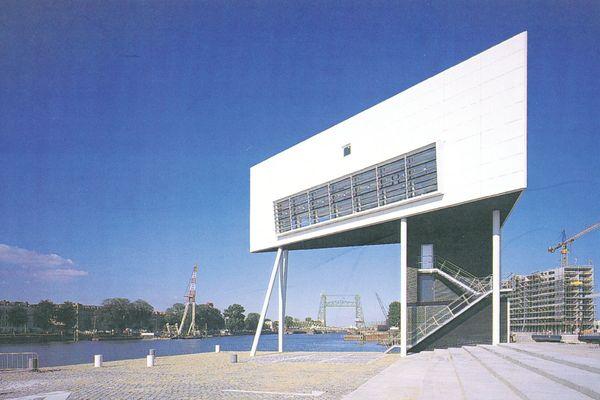 Bridge Watchers House and Quay, Rotterdam, Netherlands, 1993.