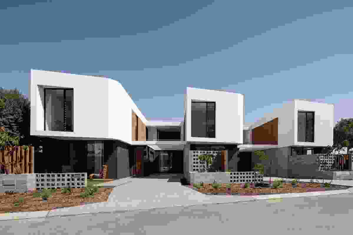 Stock Road Grouped Housing by MJA studio.