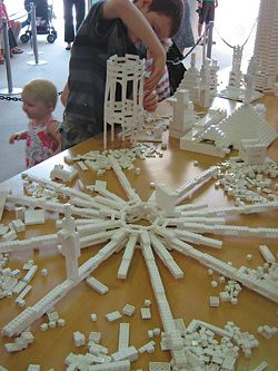 The interactive public installation at the State Art Gallery of Western Australia. At every stage, there was a concerted effort to explore alternatives to traditional towers.