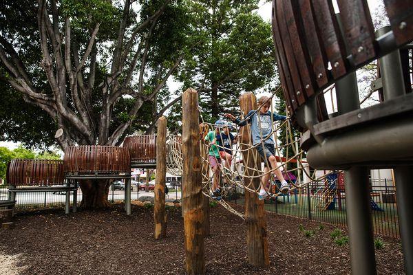 Braithwaite Park Nature Play by Emerge Associates.