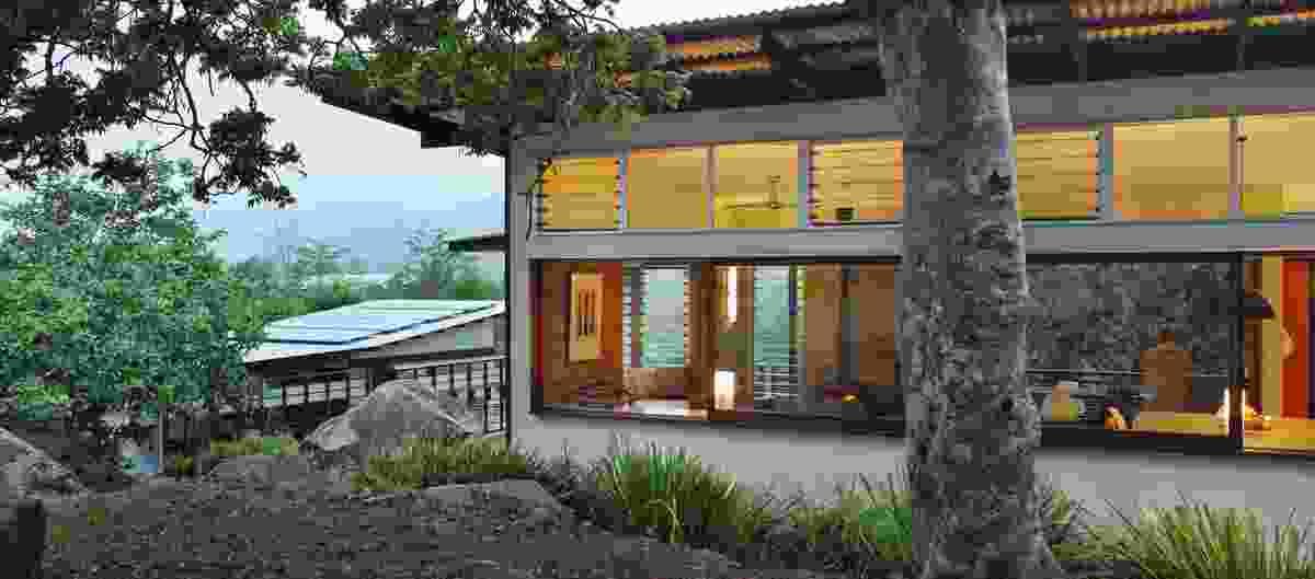 Cedar Creek House & Studio by Bligh Graham Architects.