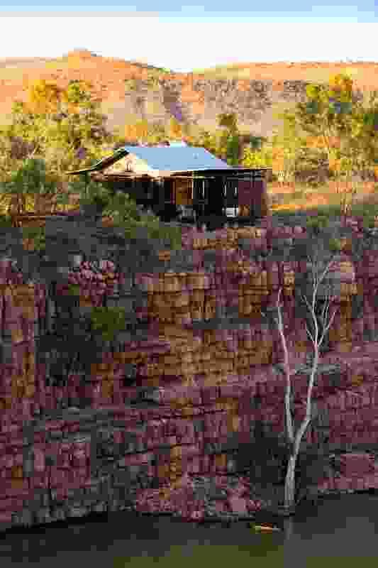 El Questro clifftop retreat, Kimberley, WA, 2012.