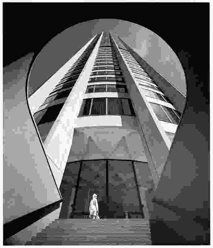 Australia Square Tower by Harry Seidler and Associates.