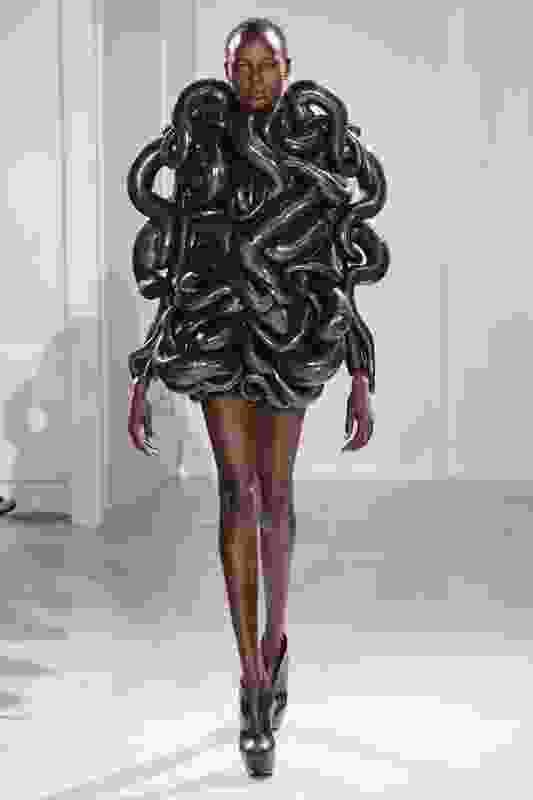 Iris van Herpen's 3D fashion.