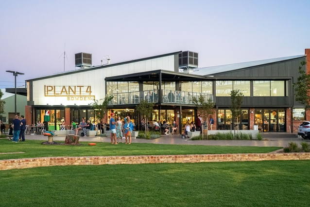 Plant 4 Bowden by Ashley Halliday Architects.