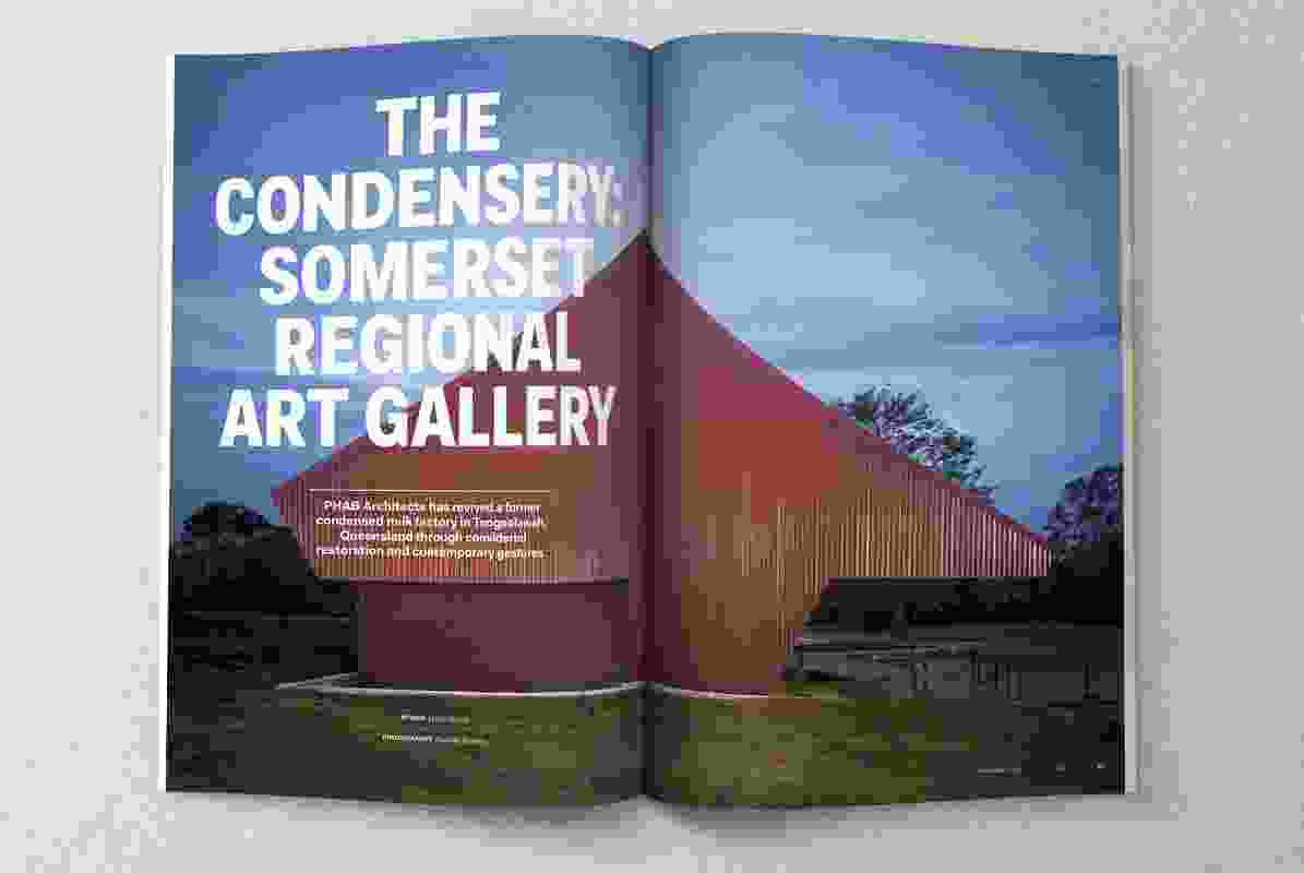 The Condensery: Somerset Regional Art Gallery by PHAB Architects.