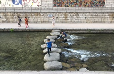 Restoring calm: Seoul's Cheonggyecheon stream