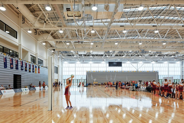 The Gold Coast Sports and Leisure Centre houses fifteen courts designed to accommodate netball, indoor soccer, badminton and other sports.