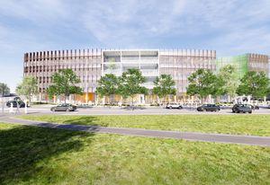 Bendigo Govhub by Lyons Architects.