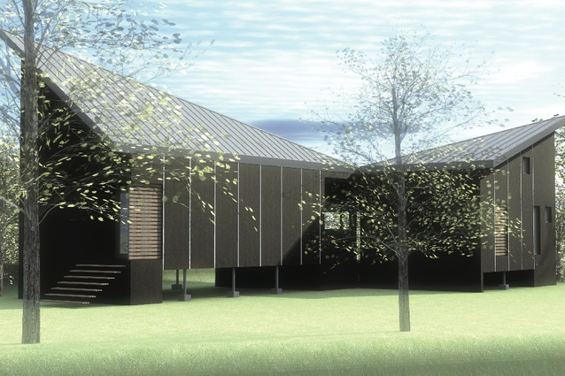 The proposal by Fiona Winzar Architects.