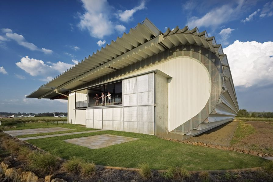 The Hangar by Peter Stutchbury Architecture.