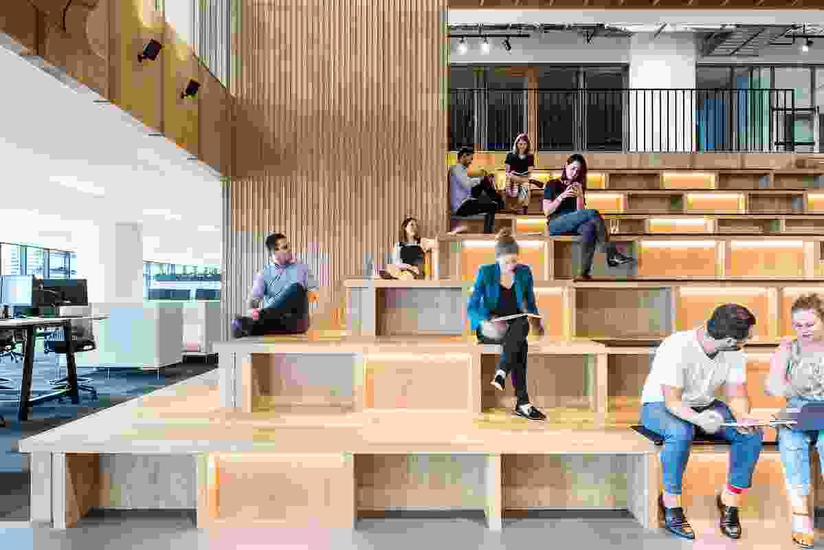 Origin Workplace Brisbane by Hassell.