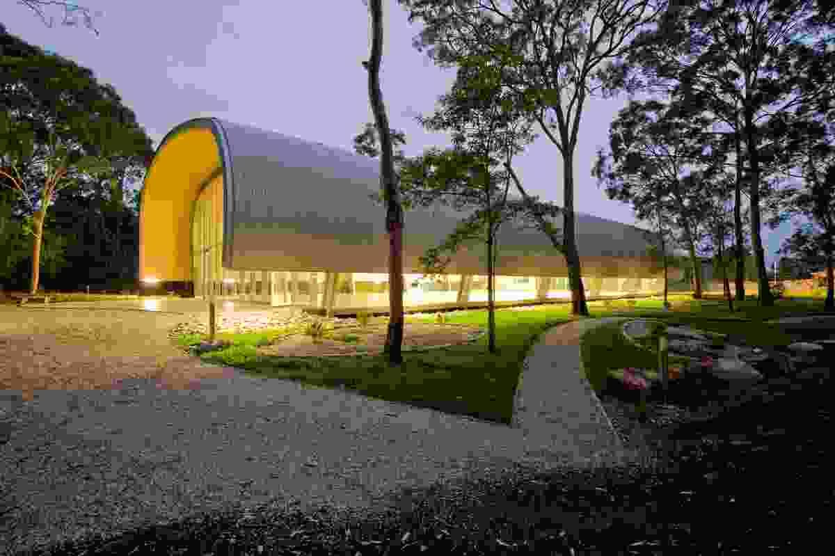 Steel Architecture Award – Milson Island Indoor Sports Stadium by Allen Jack + Cottier Architects.