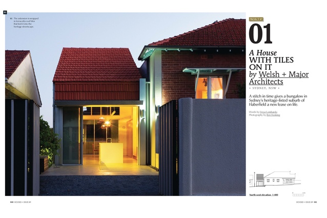 <em>Houses 89</em> preview: A House With Tiles On It by Welsh + Major Architects.