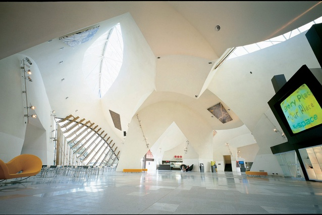 The Great Hall at the National Museum of Australia in Canberra (2001). Photography: John Gollings