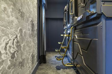 The Century Bar Capsule Hotel by Giant Design Consultants.