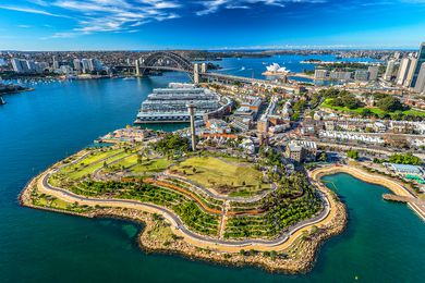 Barangaroo Reserve by Peter Walker and Partners Landscape Architecture and Johnson Pilton Walker.