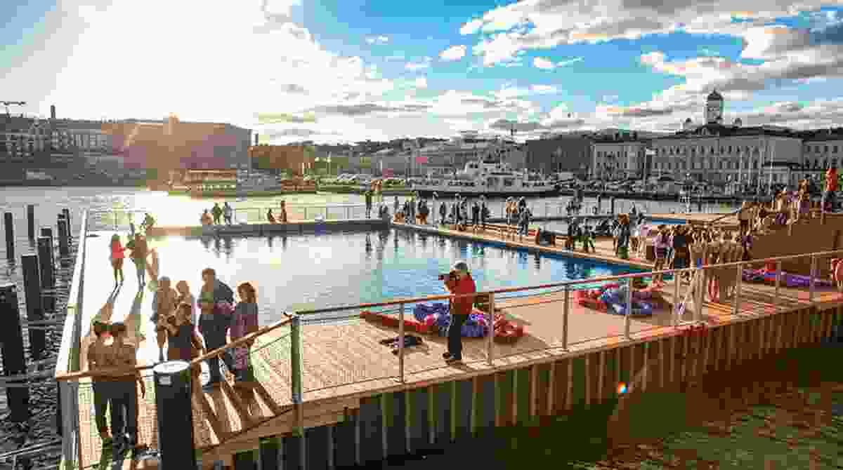 Allas Sea Pool, Helsinki, by Huttunen-Lipasti-Pakkanen Architects.