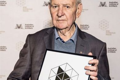 Jack Mundey was awarded the NSW President's Prize at the 2017 NSW Architecture Awards.