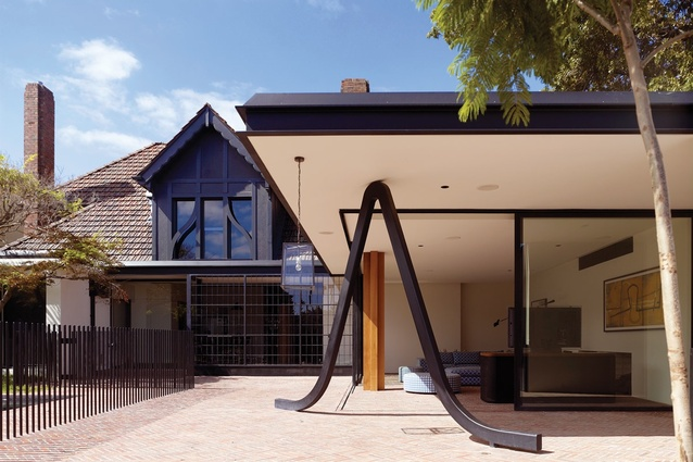 House Alteration and Addition over 200m² – Stockbroker Tudor House by Kennedy Nolan Architects.