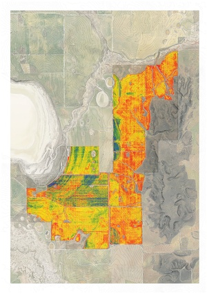 Water-use-efficiency yield mapping in 2011.