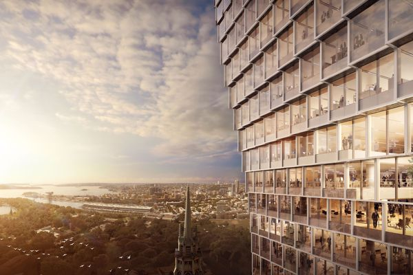 The proposed 60 Martin Place by Hassell.