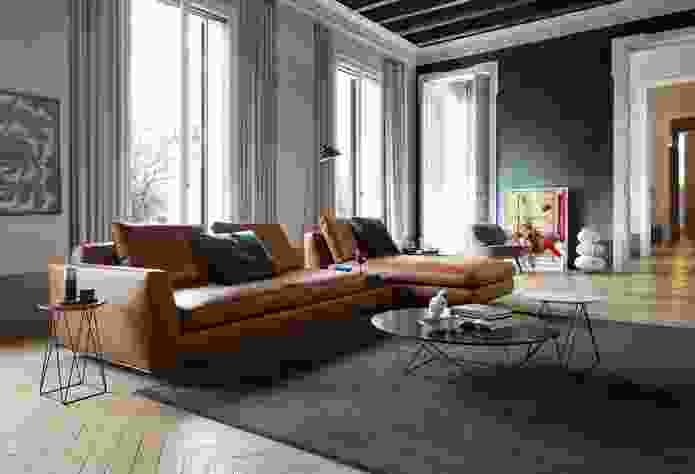 Tama Living sofa by EOOS for Walter Knoll.