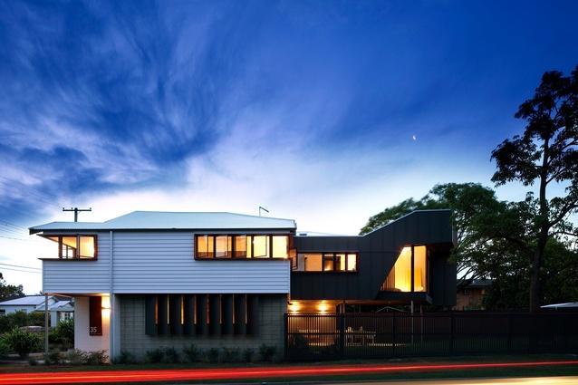 NA House Fairfield by Reddog Architects.