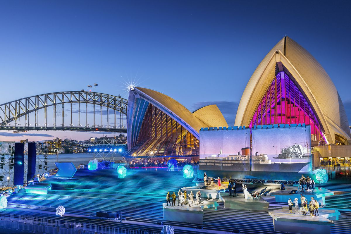 The Sydney Opera House: an ensemble work  ArchitectureAU
