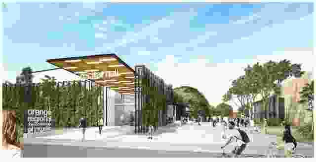 奥兰治地区音乐学院,布鲁斯特·霍斯。