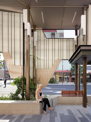Flinders Street Revitalisation by Cox Rayner Architects.