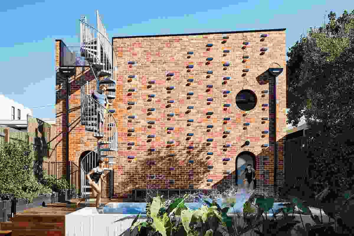 Brickface by Austin Maynard Architects.