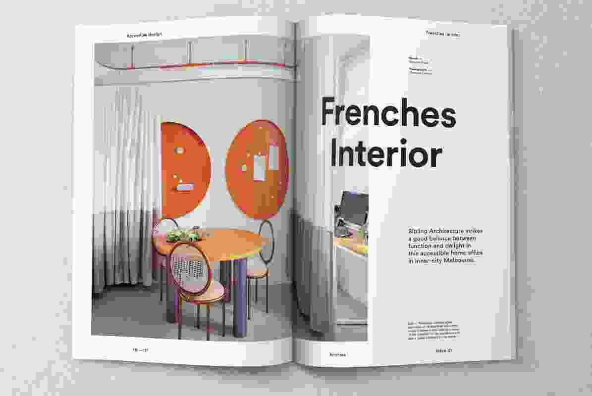 Inside Artichoke issue 61.
