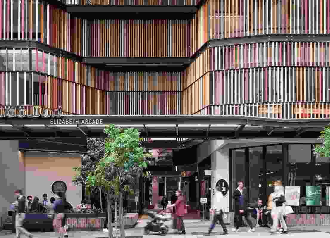 Commendation for Urban Design: Elizabeth Arcade by Arkhefield.
