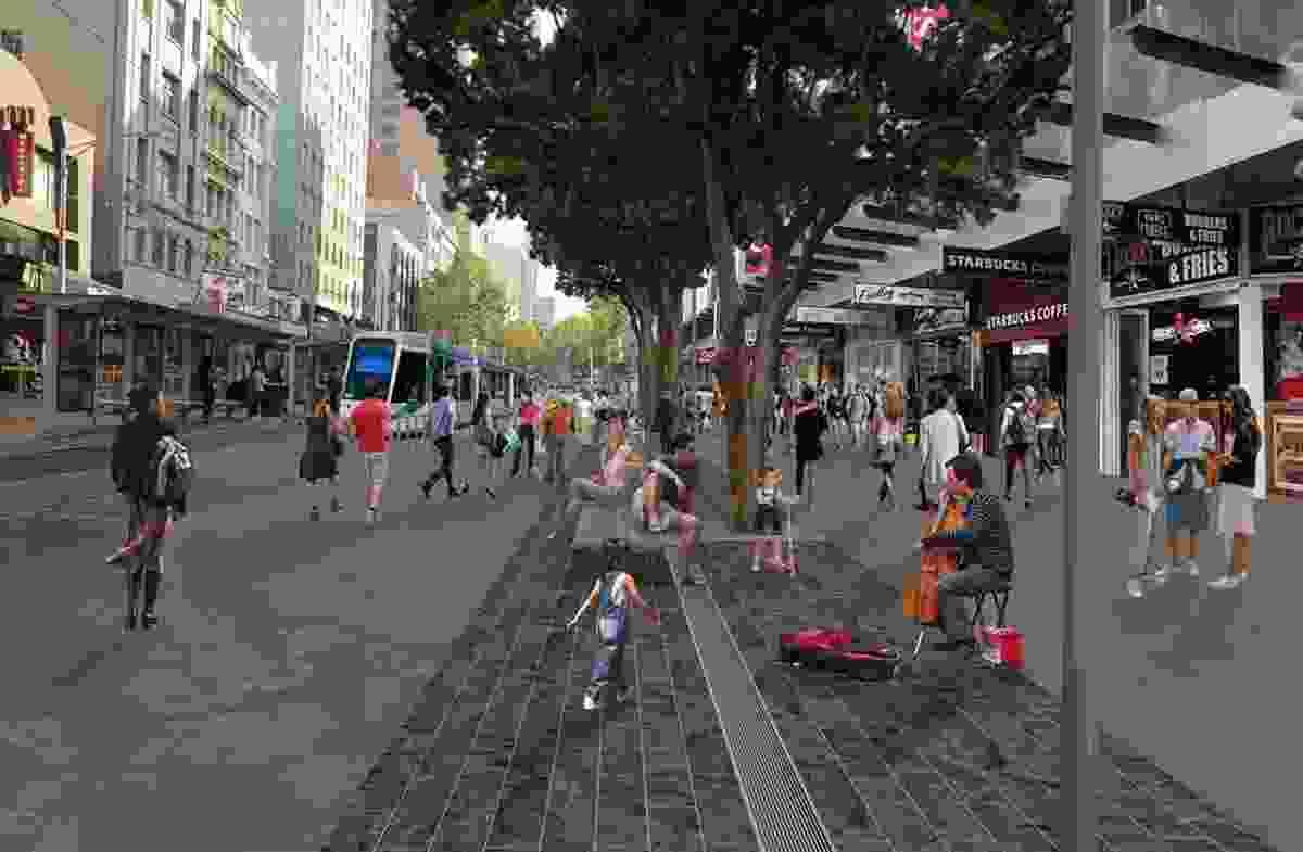 Melbourne CBD street to be pedestrianized